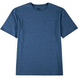 Mens Solid Crew Neck T-Shirt