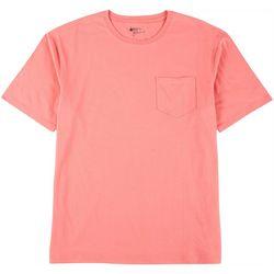 Boca Classics Mens Solid Crew Neck T-Shirt