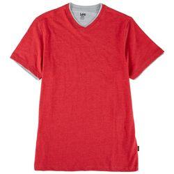 Lee Mens JAckson Heathered V-Neck T-Shirt