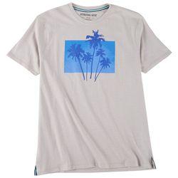 International Report Mens Triple Palm Sceen Print T-Shirt