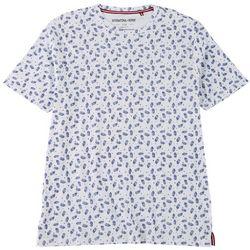 International Report Mens Pineapple Print T-Shirt