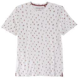 International Report Mens Flamingo Print T-Shirt