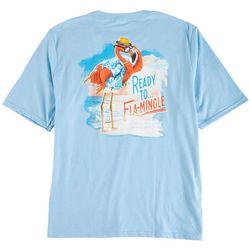 Caribbean Joe Mens Ready To Flamingle T-Shirt