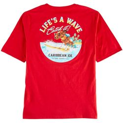 Caribbean Joe Mens Catch A Wave T-Shirt