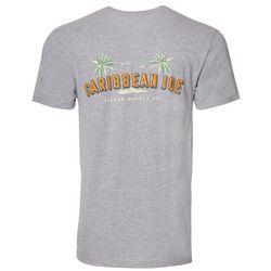 Caribbean Joe Mens Island Wave T-Shirt