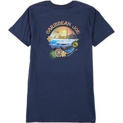 Caribbean Joe Mens Sunset T-Shirt