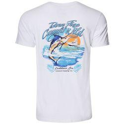 Caribbean Joe Mens Born Free T-Shirt