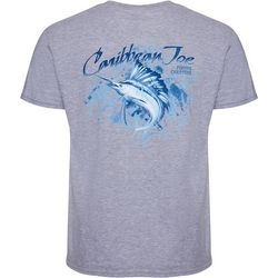 Caribbean Joe Mens Swordfish Short Sleeve T-Shirt