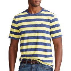 Chaps Mens Bold Stripes Short Sleeve Shirt