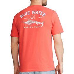 Chaps Mens Marina Beach T-Shirt