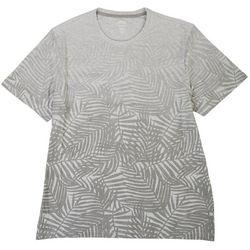 Chaps Mens Palm Print Short Sleeve Shirt