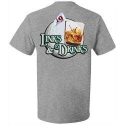 Grey & Disorderly Mens Links & Drinks T-Shirt