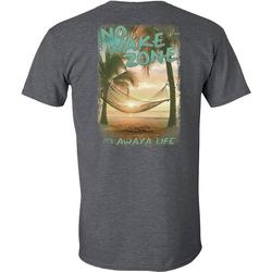 Mens No Wake Zone Short Sleeve T-Shirt