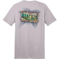 Awayalife Mens Always Beachin Short Sleeve T-Shirt