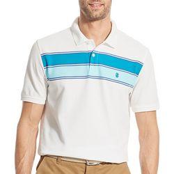 Mens Advantage Stripe Polo Shirt