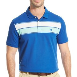 IZOD Mens Advantage Stripe Polo Shirt