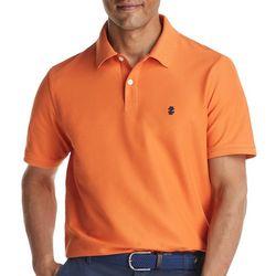 IZOD Mens Advantage Solid Performance Polo Shirt