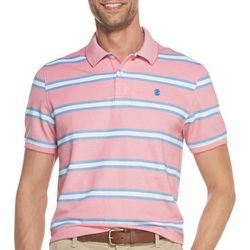 IZOD Mens Advantage Multi Stripe Polo Shirt