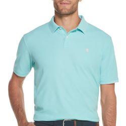 IZOD Mens Advantage Performance Solid Polo Shirt