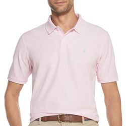 IZOD Mens Advantage Performance Solid Polo Shirt