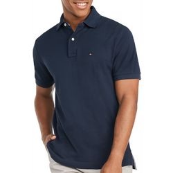 Tommy Hilfiger Mens Short Sleeve Solid Polo Shirt