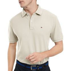 Tommy Hilfiger Mens Classic Fit Solid Polo Shirt