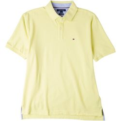 Tommy Hilfiger Mens Ivy Solid Classic Fit Polo Shirt