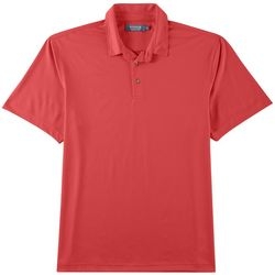 Windham Pointe Mens Subtle Dot Performance Polo Shirt