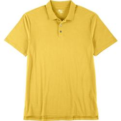 Mens Short Sleeve Solid Polo Shirt