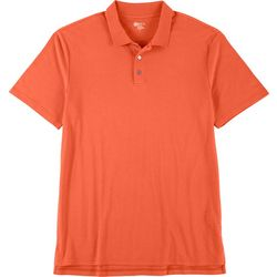 Boca Classics Mens Short Sleeve Solid Polo Shirt
