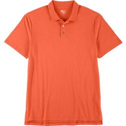Mens Short Sleeve Solid Polo Shirt