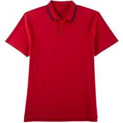 Boca Classics Mens Short Sleeve Pima Polo Shirt