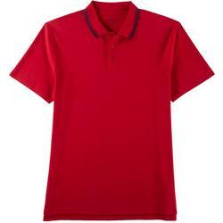 Mens Short Sleeve Pima Polo Shirt