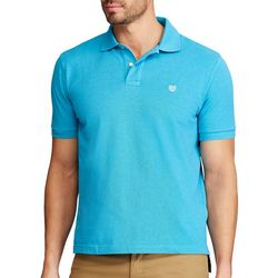 Chaps Mens Short Sleeve Everyday Pique Polo Shirt