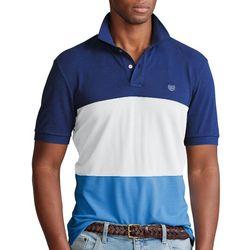 Chaps Mens Colorblock World Polo Shirt
