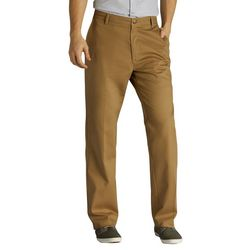 Lee Mens Total Freedom Relaxed Fit Flat Front Pants