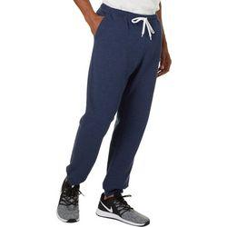 Boca Classics Mens Heathered Jogger Pants
