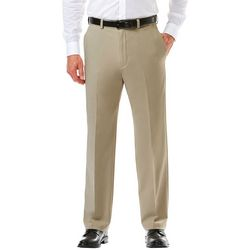 Haggar Mens Cool 18 Pro Classic Fit Pants