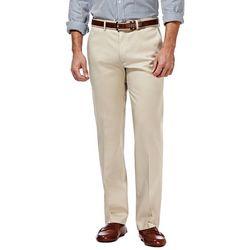 Haggar Mens Premium No Iron Straight Fit Pants