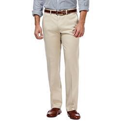 Mens Premium No Iron Straight Fit Pants