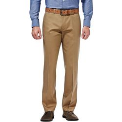 Haggar Mens Premium No Iron Straight Fit Pants