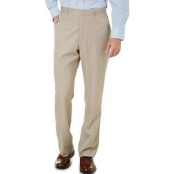 Perry Ellis Mens Modern Fit Performance Portfolio Pants