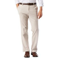 Mens Easy Stretch Flat Fronts Pants