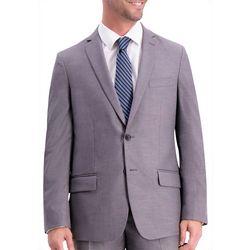 Haggar Mens Solid Slim Fit Suit Jacket