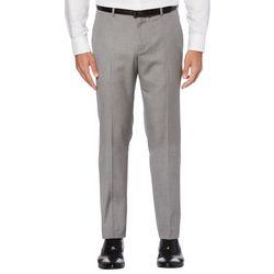 Perry Ellis Mens Herringbone Suit Pants