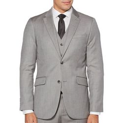 Mens Herringbone Suit Jacket