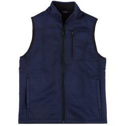 Mens Full Zip Fleece Sweater Vest