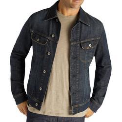 Mens Button Down Denim Jacket