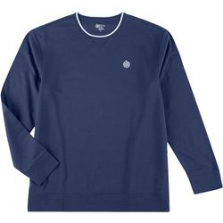 Boca Classics Mens Heathered Fleece Pullover