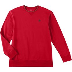 Boca Classics Mens Solid Fleece Pullover
